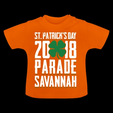 St. Patricks Tag 2018 Parade Savannah Clover - Baby T-Shirt