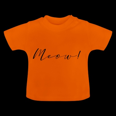meow font - Baby T-Shirt