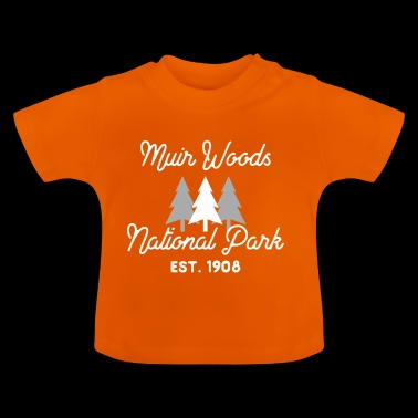Muir Woods National Park Kalifornien Redwood Forest - Baby-T-shirt