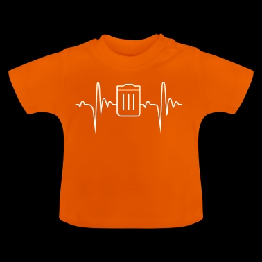 Ecology 9 Heartbeat Gift - Baby T-Shirt