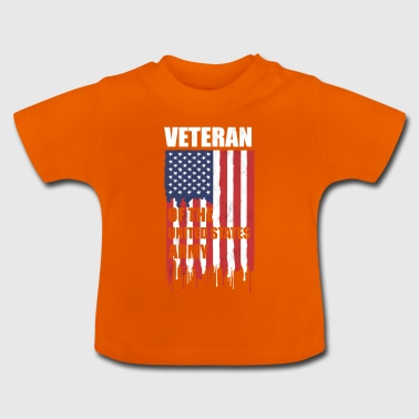 Veteran Veterans USArmy Soldier USA America Army - Baby T-Shirt