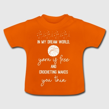 Haak - Haak - Naaien - Needle - Dream - Baby T-shirt
