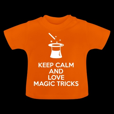 Magic Hat - Magic - Magic - Mage - Hold deg rolig - Baby-T-skjorte