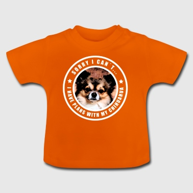 Chihuahua chihuahuas dog dogs gift puppy dog - Baby T-Shirt