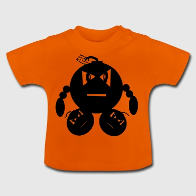 Man of explotions - Baby T-Shirt