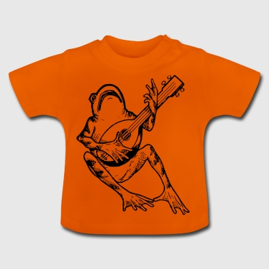 FrogWithGuitar - Baby T-Shirt