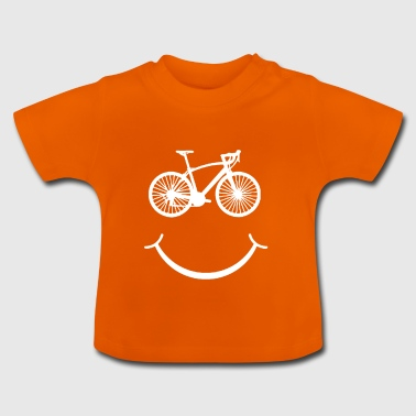 Bicycle Laugh Love Sport Gift - Baby T-shirt