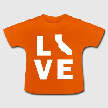Love Kalifornien - Baby T-Shirt