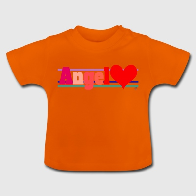 Angel and heart - Baby T-Shirt