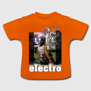 Electro Traumfänger1 Turntable Save the Vinyl - Baby T-Shirt