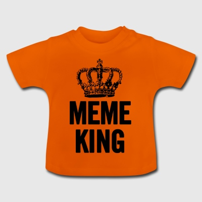 Meme King Black - Baby T-Shirt