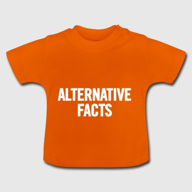 Faits Alternative 2 Blanc - T-shirt Bébé