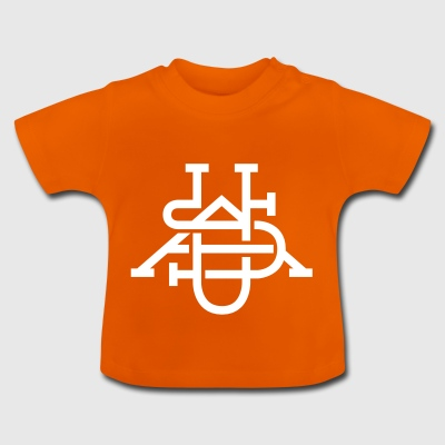 monogram USA - Baby-T-shirt