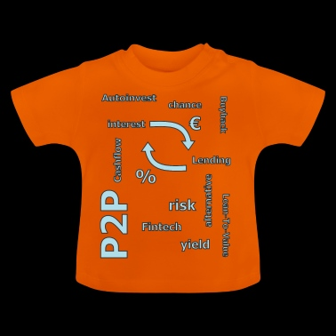 P2P - Person zu Person Kredit - Baby T-Shirt