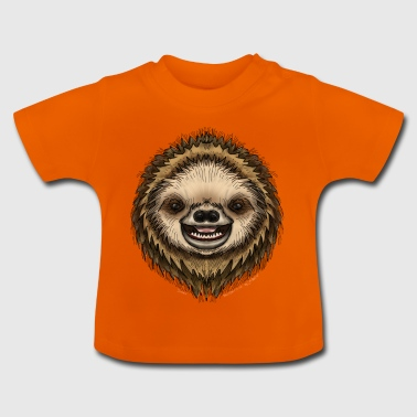Simon Sloth af Jon Ball - Baby T-shirt