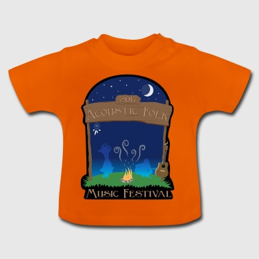 Acoustic Folk Music Festival - Baby T-shirt