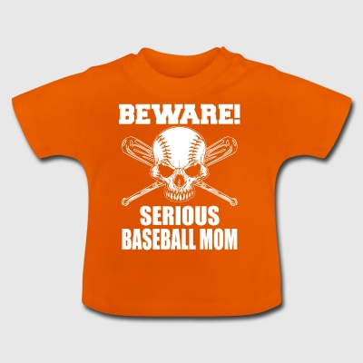 Baseball MOM - Baby-T-skjorte
