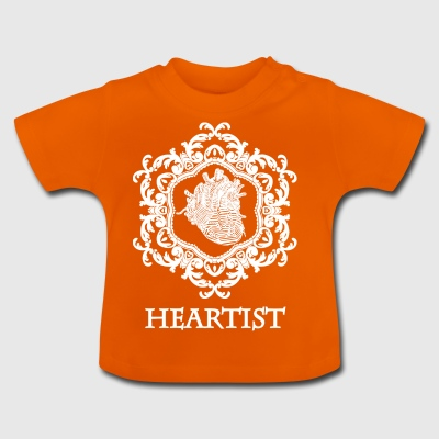 heartist wite - Baby-T-shirt