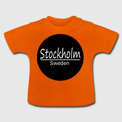 Stockholm - Baby-T-shirt