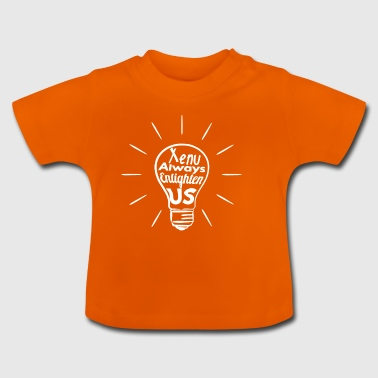Xenu Enlighten nous - Blanc - T-shirt Bébé