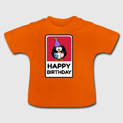 Happy Birtday Pingu - Baby T-Shirt