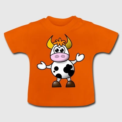 cartoon koe 5 - Baby T-shirt