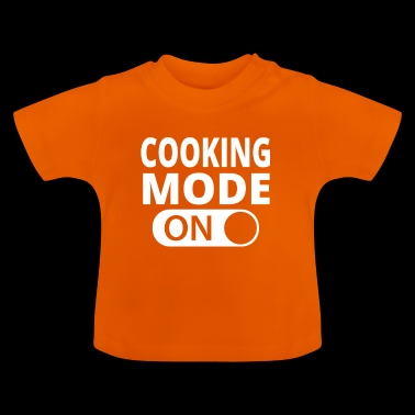 MODE ON COOKING - Baby T-Shirt