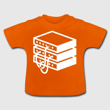 Gammaldags server - Baby-T-shirt