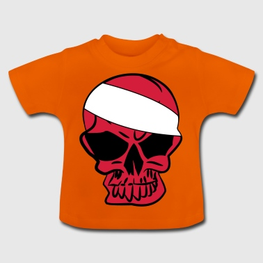Anarcho Skull Anarchie anarchy - Baby T-Shirt