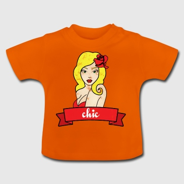 Pin-Up Girl / Rockabilly / 50: Chic - T-shirt Bébé