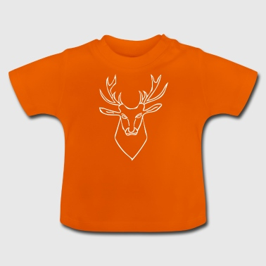 Deer white - Baby T-Shirt