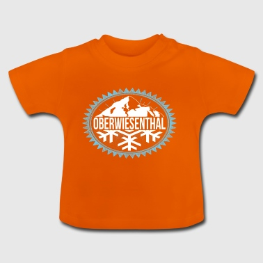 OBERWIESENTHAL Winter Berge - Baby T-Shirt