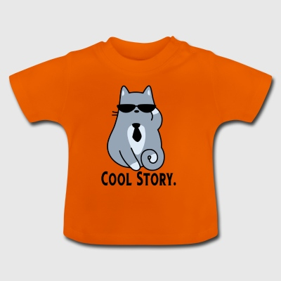 COOL STORY CAT - Baby T-shirt
