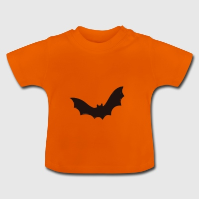 Fledermaus, Halloween, Batman, Robin, Grusel - Baby T-Shirt