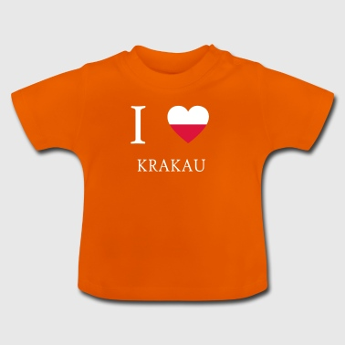 I love poland KRAKOW - Baby T-Shirt