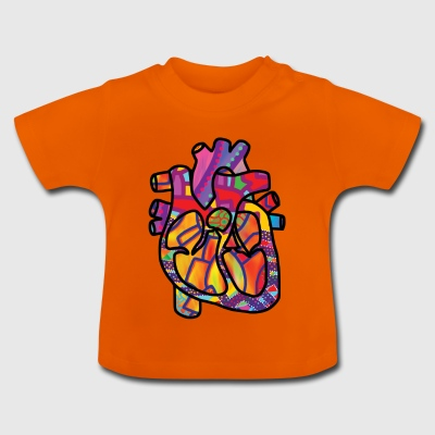 Real Energetic Heart - Baby T-Shirt