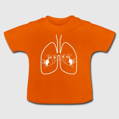 Lungs bowling bowling 9 strike bowler lunge - Baby T-Shirt