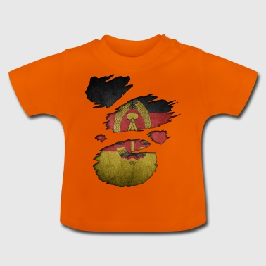Roots Superland j'aime ddr Republ démocratique - T-shirt Bébé