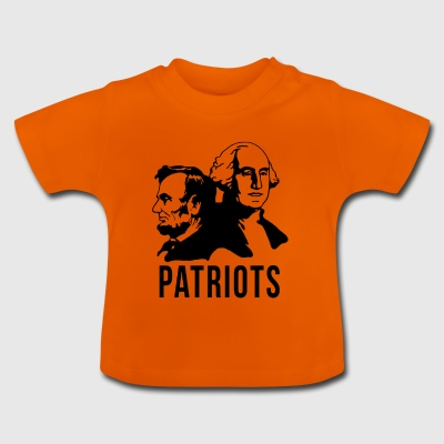 Patriot USA Patriot présidents américains - T-shirt Bébé