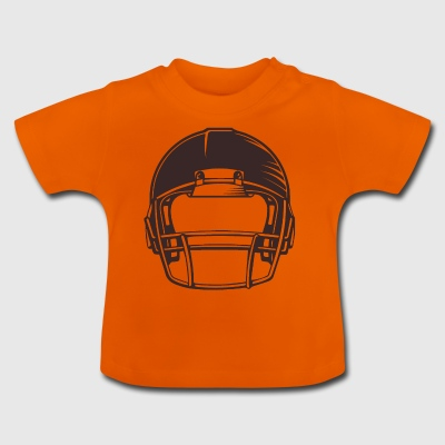 American Football Helm Rugby Quarterback Football - Baby T-Shirt