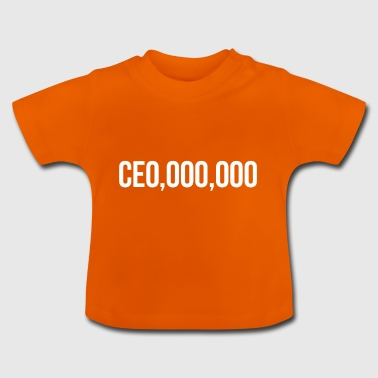 CEO Chief Boss Gift - Baby-T-skjorte