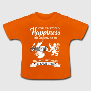 Blij gift Schotland William Wallace Edinburgh - Baby T-shirt