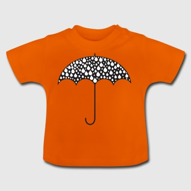 paraply Illustration - Baby-T-shirt