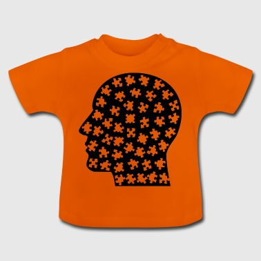 Head puzzle - Baby T-Shirt