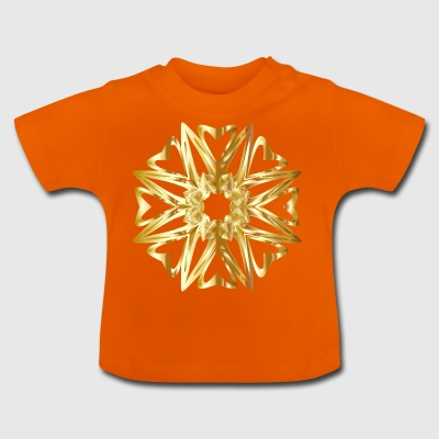 Pattern gold - Baby T-Shirt