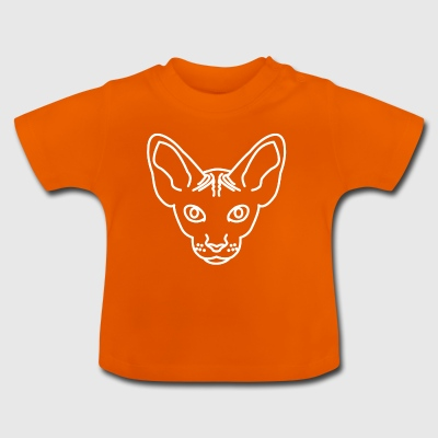 Chat laid - T-shirt Bébé