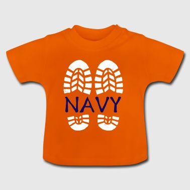 Navy *BEST SELLER* - Baby T-Shirt