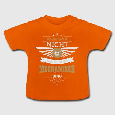 Mechanic automonteur gift - Baby T-shirt