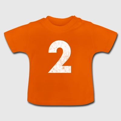 Number 2, Number 2, 2, two, Number two, Two - Baby T-Shirt