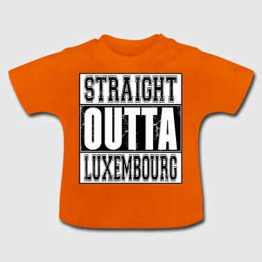 Straight Outta Luxembourg 002 AllroundDesigns - Baby T-Shirt